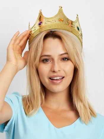 Złota korona królewska