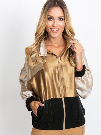 Złoto-czarna bluza Cairo