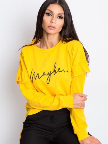 Żółta bluzka Dulce