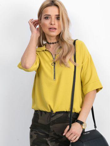 Żółta bluzka Hokum