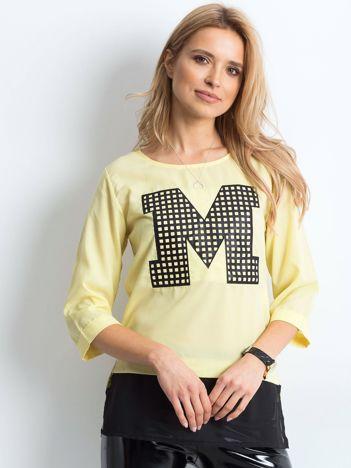 Żółta bluzka Unmatched