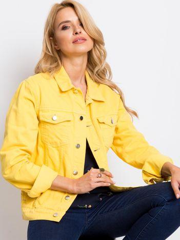 Żółta kurtka Living