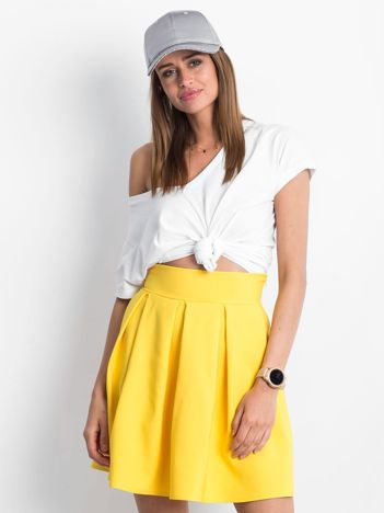 Żółta spódnica Exposed