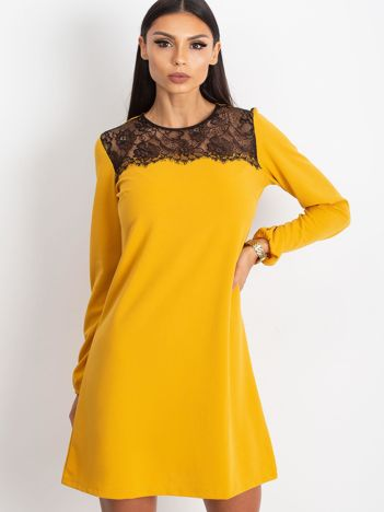 Żółta sukienka Bombay