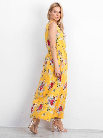 Żółta sukienka Haphazardly
