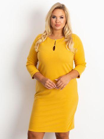 Żółta sukienka Imagination