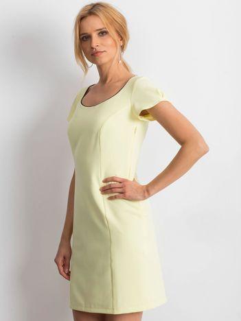 e5a02cafc2 Żółta sukienka Majesty