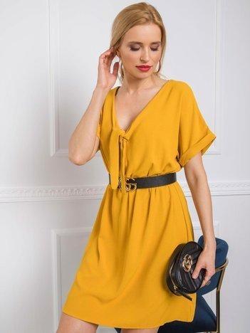 Żółta sukienka Virginia RUE PARIS