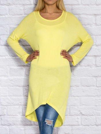 Żółta tunika basic
