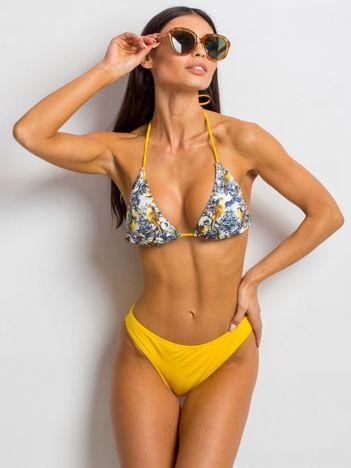 Żółto-niebieskie bikini Exacerbate