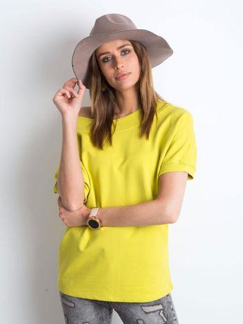 Żółto-zielona bluzka Lemontree