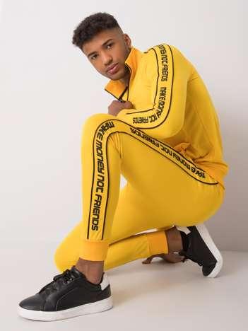 Żółty komplet męski Bradley