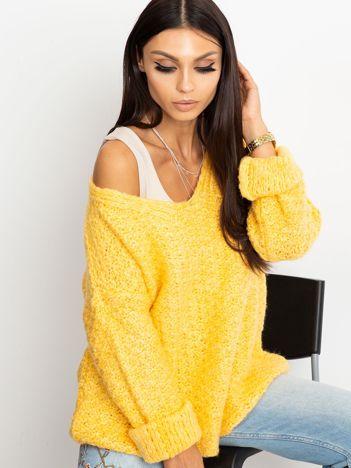Żółty sweter Lively