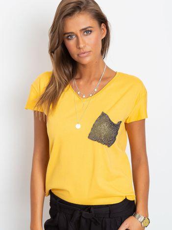 Żółty t-shirt Shelly