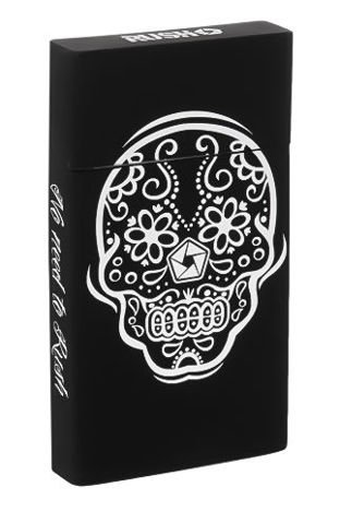 toys4smokers Etui na papierosy SILICONE slim Mexican Skull