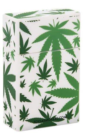 toys4smokers Etui silikonowe na papierosy WEED