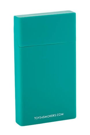 toys4smokers Etui silikonowe na papierosy slim BOTTLE GREEN