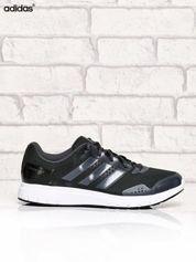 ADIDAS czarne buty męskie sportowe z odblaskowymi elementami