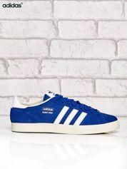 ADIDAS niebieskie buty męskie sportowe przed kostkę