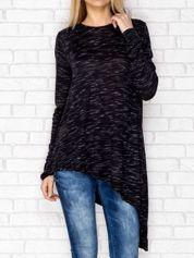 Asymetryczna bluzka czarna