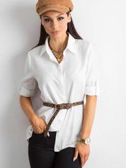Biała bawełniana koszula