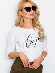 Biała bluzka Luxe