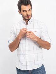 Biała koszula męska Suspension