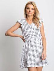 Biała sukienka Enthusiast