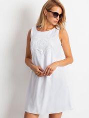 Biała sukienka Secret