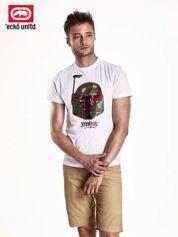 Biały t-shirt męski z motywem Star Wars