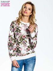 Bluza w kwiatowe wzory