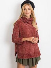 Bordowy sweter Lexie