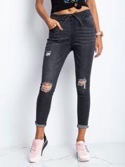 Ciemnoszare jeansy Subversive
