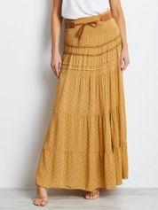 Ciemnożółta spódnica Others