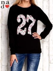 Czarna bluza z cyfrą 27