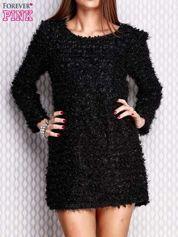 Czarna sukienka fluffy