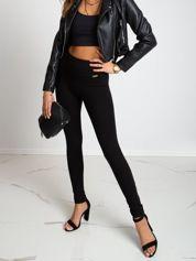 Czarne legginsy Show