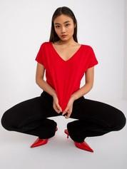 Czerwony t-shirt Emory