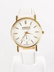 Damski zegarek biały