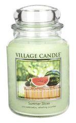 Duża świeca zapachowa Village Candle 645 gr - Summer Slices