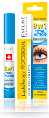 EVELINE Skoncentrowane serum do rzęs LASH THERAPY TOTAL ACTION 8W1 10 ml