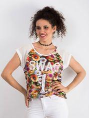 Ecru t-shirt Stunning