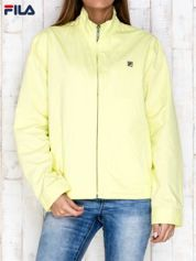 FILA Żółta kurtka ze stójką