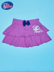 Fioletowa spódnica dla dziewczynki LITTLEST PET SHOP