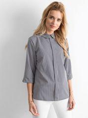 Granatowa bluzka w paski