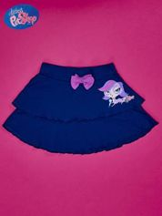 Granatowa spódnica dla dziewczynki LITTLEST PET SHOP