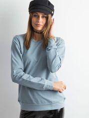 Jasnoniebieska bluza damska basic