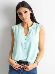 Jasnoniebieska damska bluzka