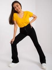 Jasnopomarańczowy t-shirt Emory