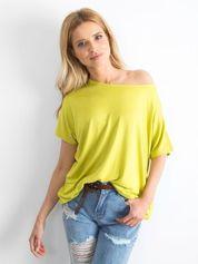 Jasnozielona bluzka Oversize